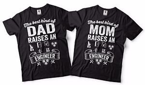 f49c4113 Engineer Parents Gift Ideas Matching Mom Dad Shirt Proud Engineer ...