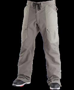 Airblaster Freedom Cargo Snowboard Pant Gunmetal 2019