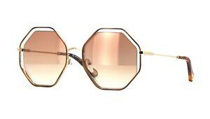 479a3b45b15 Chloé POPPY CE132S havana gold pink brown shaded (205) Sunglasses ...