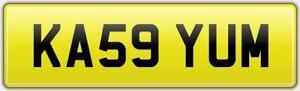 KA59-YUM-RARE-ISSUE-VIP-PRIVATE-CAR-REG-NUMBER-PLATE-FEES-PAID-KAYUM-KAYAM-KAY