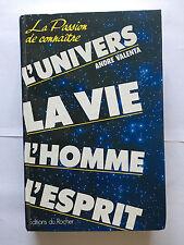 L'UNIVERS LA VIE L'HOMME L'ESPRIT 1991 ANDRE VALENTA ILLUSTRE