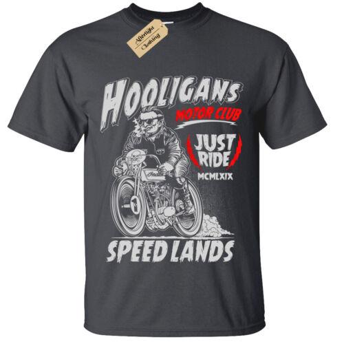 Enfants Garçons Filles hooligans T-Shirt Motard Cadeau Vélo Moto Rider