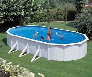 Stahlwandbecken pool schwimmbecken 730 x 375 x 120 cm komplettset mit sandfilter ebay - Pool mit sandfilter ...
