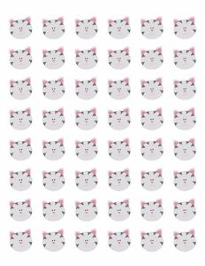 48-CAT-FACE-ENVELOPE-SEALS-LABELS-STICKERS-1-2-034-ROUND