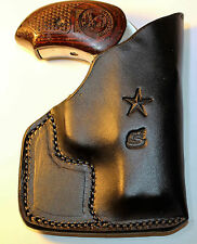 Pocket holster for Bond Arms  Snake Slayer with 3 1/2 inch barrel... Leather