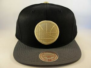 entire collection shoes for cheap info for Golden State Warriors NBA Mitchell & Ness Gold Tip Snapback Hat ...
