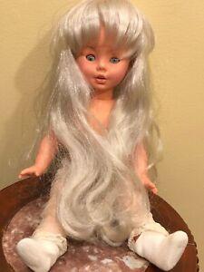 Fugga-Furga-Doll-Italy-Original-Clothes-Sleepy-Eyes-Blonde-14-034-Jointed-Vintage