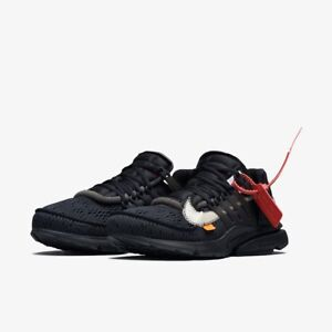 89e5d1e2557f Nike x Off-White Air Presto Black Polar Opposites The 10 Ten Virgil ...