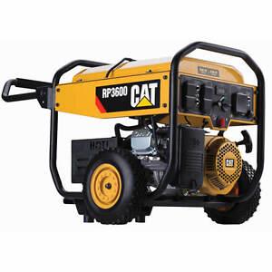 Cat Rp3600 3600 Watt Portable Generator Ebay