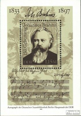 Used 1983 Brahms Devoted Ddr Block69 complete.issue