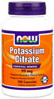 NOW Foods Potassium Citrate 99mg Capsule -180 Count