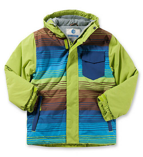 NUOVO billabong over Snowboard Giacca Giacca Giacca Sci verde 8000 WS Taglia 152 12