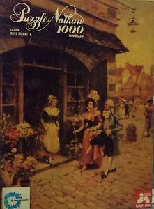 Puzzle-Chez-Manette-Lesur-1000-Nathan-It-66-5-x-49-2-cm-Vintage