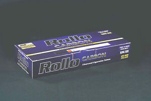 1000-NEW-034-CARBON-034-EMPTY-ROLLO-TUBES-Cigarrette-Tobbacco-FREE-INJECTOR