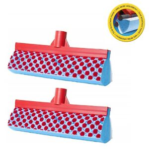 Mop-Replacement-Heads-Vileda-Magic-3-Action-Refil-Absorbent-Clean-Pack-of-2