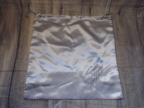 GIUSEPPE ZANOTTI SATIN DUST BAG HANDBAG STORAGE SHOES SNEAKERS GENUINE 40 x 39cm