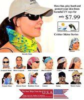 Sport Paintball Running Scarf Head Neck Uvsun Hood Mask Skin Protection