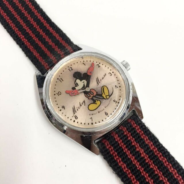 Mickey Mouse Watch Value >> Vintage 1970 S Seiko Mechanical Watch Mickey Mouse 5000 7000
