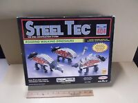 Remco Steel Tec 404 Roaring Walking Dinosaurs 399 Parts Rare Remco 1993