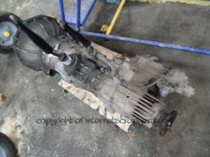 isuzu trooper duty 3.0 91-02 gen2 4jx1 manual gearbox gear box +