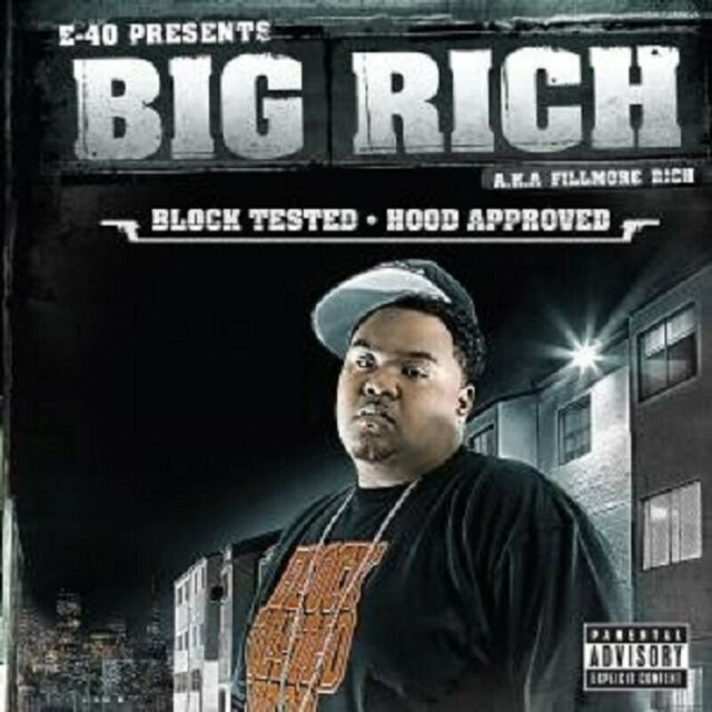 """BIG RICH """"BLOCK TESTED HOOD APPROVED"""" CD NEUWARE"""