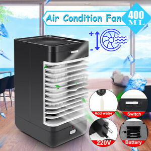 Portable Mini Air Conditioning Fan Cool Cooling Fan Home Office Camping  K