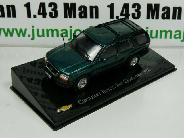 CVT37 voiture 1/43 IXO Salvat BRESIL CHEVROLET : Blazer 2nd Generation 2002