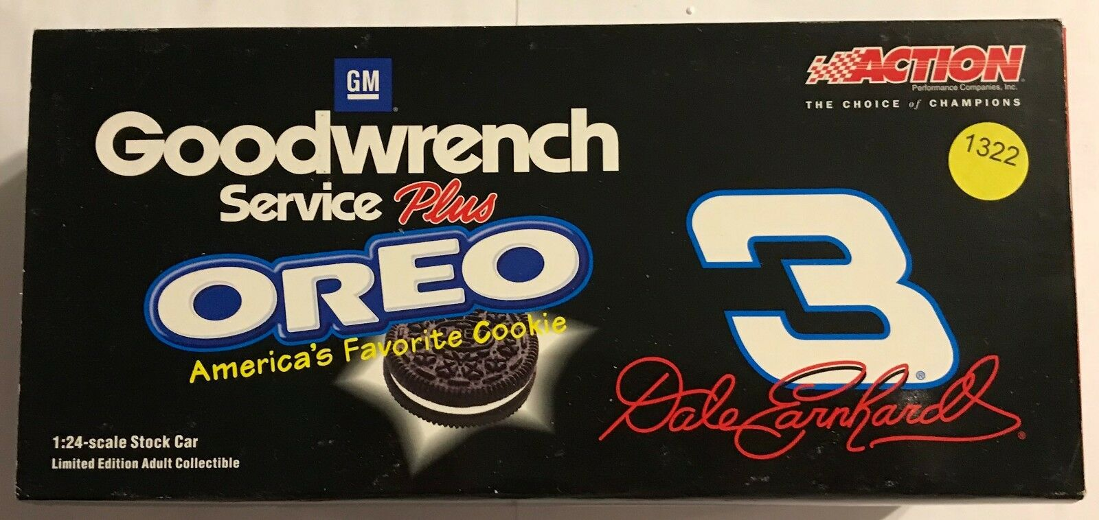 Action 1 24th  Dale Earnhardt Sr. Goodwrench   Oreo 2001 Monte Carlo