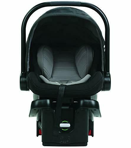 Baby Jogger City Go Infant Baby Car Seat with Base in Black//Gray