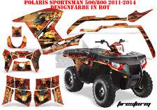 AMR Racing DECORO GRAPHIC KIT ATV POLARIS SPORTSMAN modelli Firestorm B