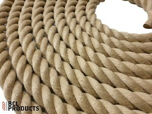 20mm Synthetic Hemp Rope Polyhemp Garden Rope By The Metre Ebay