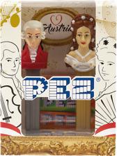 Set of 2 European PEZ dispensers Mint in Box - Sisi & Mozart Giftset (Austria)