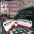 Evensongs & Vespers At Kings von Stephen Cleobury,Cambridge Choir of Kings College (2008)