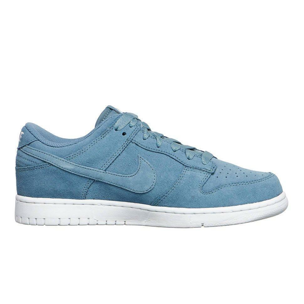 Mens NIKE DUNK RETRO LOW Smokey blueee Trainers 896176 002