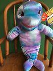 "Build a Bear 16"" Sea Splash Dolphin Plush/Puppet Stuffed/Unstuffed Animal NEW"