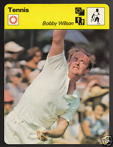 BOBBY-WILSON-British-Tennis-Player-Photo-1979-SPORTSCASTER-CARD-65-09