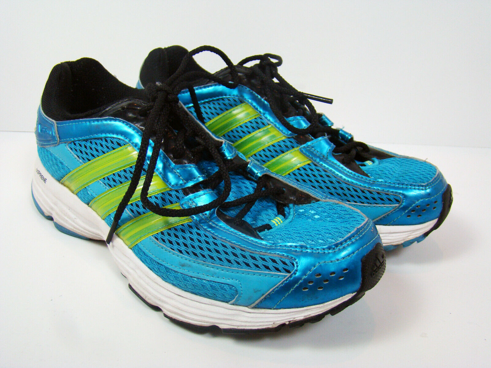Adidas Falcon Adiprene Women's Tennis Running Shoes Teal Neon US Size 7
