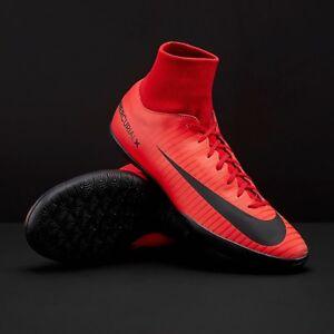 pretty nice 36629 faef5 Nike Mercurial Victory VI DF IC- Red / Black | eBay