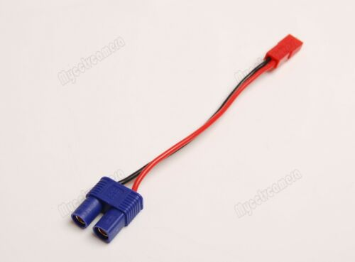 5 Lot EC3 Female Plug to JST Famale Connector Adapter 22awg Wire fr RC Power