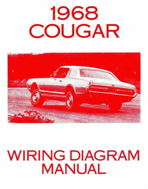 1968 Mercury Cougar Wiring Diagram Manual