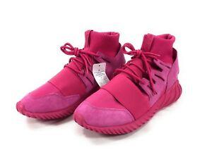be5c999edf56 Adidas Tubular Doom Runner Originals Shoes Mens 10.5 Knit All Pink ...