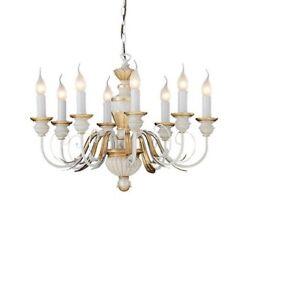 IDEAL LUX FIRENZE SP8, lampadario classico da camera da letto o ...