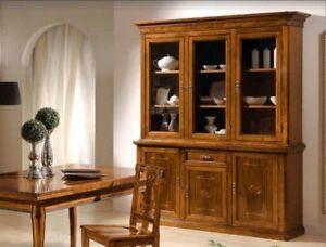 Credenza Con Vetrina Arte Povera : Credenza arte povera legno credenze vetrina cristalliera classiche