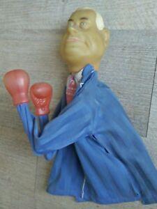 Jean-Marie-Le-Pen-Rare-Marionnette-Ancienne-Boxeur-Guignol-1980-039-s-front-national