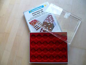 LEUCHTTURM-Muenzbox-24-Faecher-fuer-CAPS-34-35-grau-NEUWERTIG-07