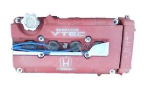 HONDA-B18-B16-B-SERIES-VTEC-CLEAR-POLYCARBONITE-VALVE-COVER-SPARK-PLUG-INSERT