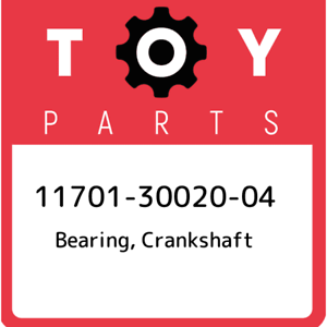 New Genuine OEM Part crankshaft 117013002004 11701-30020-04 Toyota Bearing