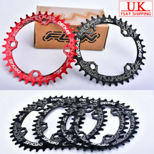 DECKAS-32-38t-104bcd-Narrow-Wide-Round-Oval-Single-MTB-Bike-Chainset-Chainring