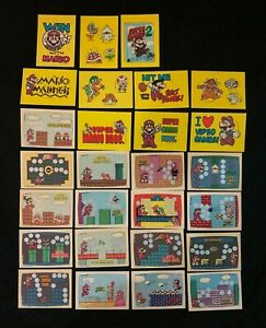 Nintendo Topps Super Mario Game Pack Scratch Off Cards Series Ebay