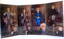 Hunger Games Catching Fire Barbie Doll Set Katniss Everdeen Peeta Finnick Effie